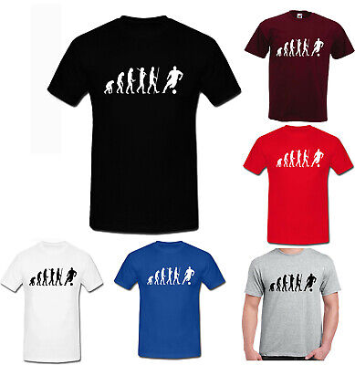 Evolution of FOOTBALL sports liverpool manchester funny KIDS ADULT cool t shirt