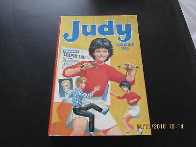 JUDY   for  GIRLS  ANNUAL 1985  VERY GOOD FOR  AGE