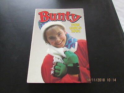 BUNTY  for  GIRLS  ANNUAL 1991  VERY GOOD FOR  AGE