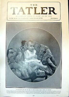 Old Print Little Boy May Be King Spain Alfonso Maria Prince Asturias 1904 20th