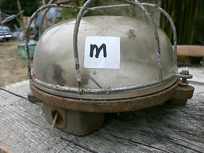 Vintage Bulkhead Industrial loft wall ceiling light lamp French iron factory. M