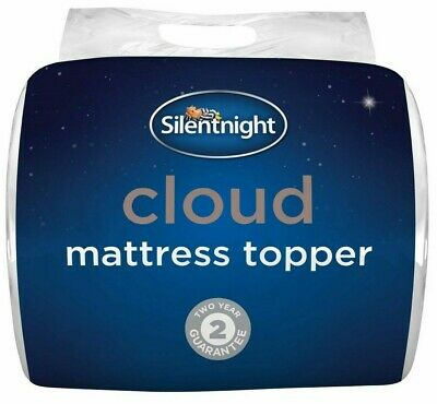 Silentnight Cloud Mattress Topper - Single Double or King Size