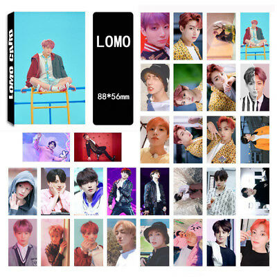 30pcs set Kpop BTS Love Yourself 结 Answer Jungkook Lomo Photo Card HD Photocard
