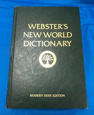 Webster's New World Dictionary Of The American Language 1979 Hardback Book
