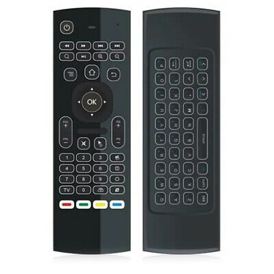 Martrea MX3-L 2.4G Wireless Air Mouse QWERTY Keyboards IR Remote For Android TV