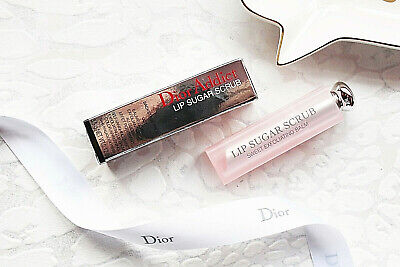 Dior Addict Lip Sugar Scrub Sweet Exfoliating Lip Balm 001 Bnib Genuine 3.5G £28