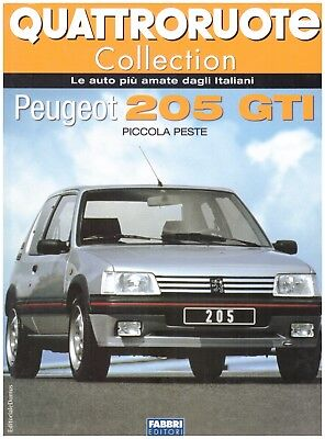Libro Peugeot 205 Gti Quattroruote Collection Eur 5 00 Picclick It