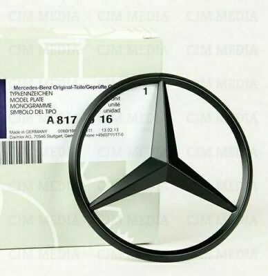Mercedes Benz CLA Class W117 2013+ Matte Black Rear Boot Badge Star A1178170016
