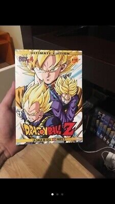 Dragon Ball Z-Box Z 4-La Saga De Cell 1º Parte-8 Dvd-Remasterizada-Nuevo-Manga