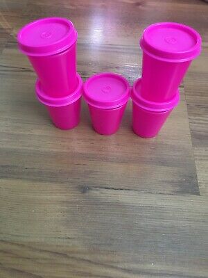 Tupperware Tupper Mini Containers Hot Pink
