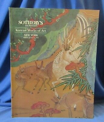 Sotheby's Korean Works of Art New York 18th June 1993 Catalogue