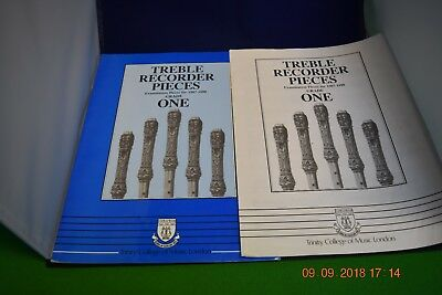 Descant Recorder Pieces (1987-1990) Grade One.