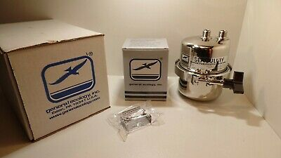 NEW! General Ecology Seagull IV Drinking Water / Air vessel & Cartridge