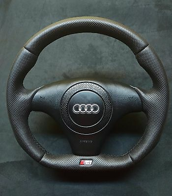Flat Bottom Steering Wheel Audi S4 B5 ! S4 Badge ! Audi R8 2017 Style