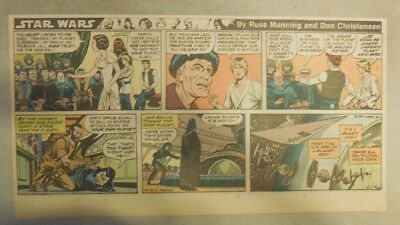 Star Wars Sunday Page # 65 by Russ Manning from 6/1/1980 Third Page Size!