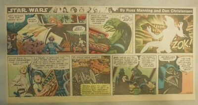 Star Wars Sunday Page #59 by Russ Manning from 4/20/1980 Third Page Size!