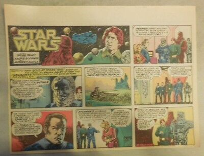 Star Wars Sunday Page by Alfredo P. Alcala from 11/9/1980 Large Half Page Size!