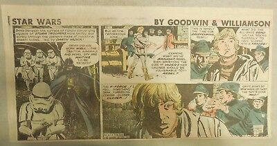 Star Wars Sunday Page by Al Williamson from 7/12/1981 Third Page Size!