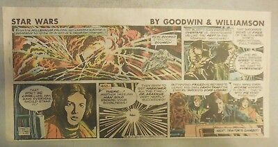 Star Wars Sunday Page by Al Williamson from 1/3/1982 Third Page Size!