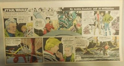 Star Wars Sunday Page by Al Williamson from 9/13/1981 Third Page Size!
