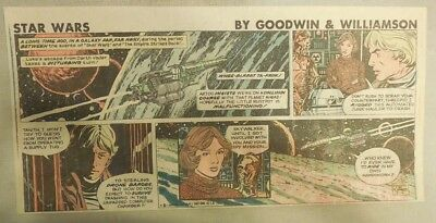 Star Wars Sunday Page by Al Williamson from 8/2/1981 Third Page Size!