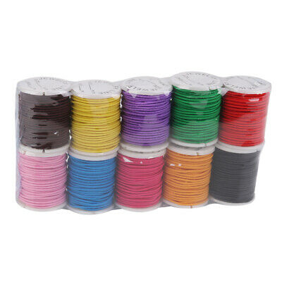 10 Rolls Colors Stretchy Elastic String Bead Cord Thread for jewelry DIY 1mm