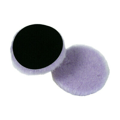 Lake Country - Purple Foamed Wool Buffing And Polishing Pad 5 inch