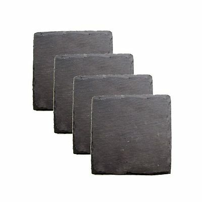 Country Home Square Slate Coasters by Twine - (Set of 4) Dinning Room Tableware*