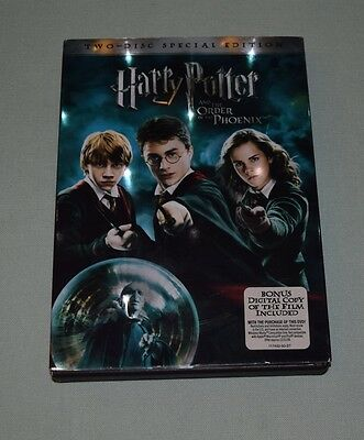 DVD Harry Potter Order of the Phoenix Two 2-Disc Special Edition