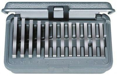 Brown & Sharpe 599-921-18 Ultra Precision 12pc Angle Block Set, 1/4°-30° Blocks