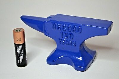"Record Tools 100 Years Anniversary 5"" Anvil Jewellery Making 1998 Rare REF 10"