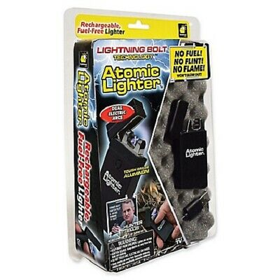Atomic Lighter - Rechargable Windproof Fuel-Free - As Seen On TV -  New