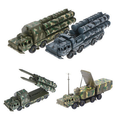 1:72 S-300 Missile Systems Radar Vehicle Assembled Military Car Model To XJ
