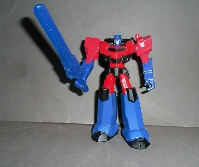McDONALDS Transformers Robots In Disguise OPTIMUS PRIME Toy MINT 2017 Malaysia