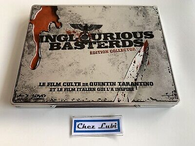 Inglorious Basterds - Edition Collector Steelbook - 2 Films - DVD + Bluray