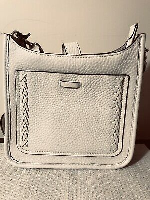 aafad4da8 Rebecca Minkoff Mini Unlined Feed Bag with Whipstich 100% Authentic Optic  White