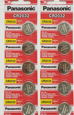 Lot of 15 Batteries-Panasonic CR2032 ECR2032 3V Lithium Coin Battery  Exp 2028