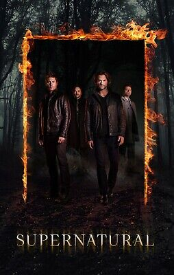 Supernatural Poster - Season 12 - Castiel Crowley Sam Dean - 11x17 13x19