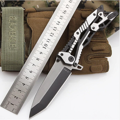 Pocket Tactical Knife Survival EDC Tools Outdoor Camping Combat Folding Blade