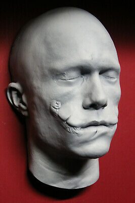 Heath Ledger 1:1 Life Mask Joker un-painted