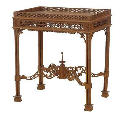 20Th Century Chippendale Style Silver Table