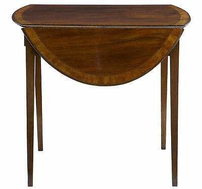 19Th Century Late Regency Mahogany Pembroke Table