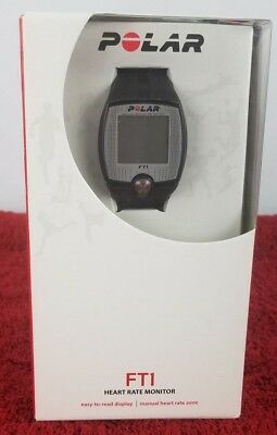 Polar FT1 Heart Rate Monitor Easy to Read Display New Sealed )