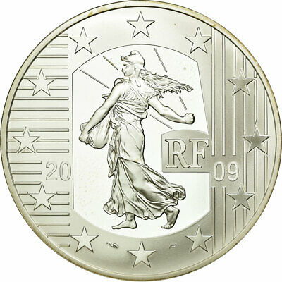 [#687320] France, 10 Euro, 2009, FDC, Argent, KM:1584