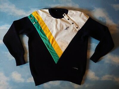 SWEATER vintage 80 AUSTRALIAN L'Alpina  TG.M circa  made in Italy RARE
