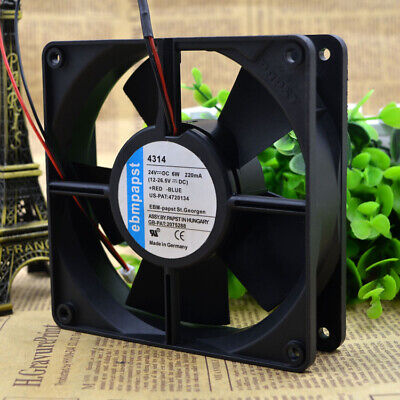 EBMPAPST TYP 4314S 12032 24V5W 3-wire double ball inverter cooling fan