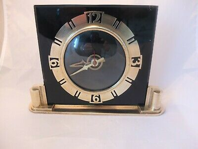 Art Deco mantle clock by British Electric Meters Ltd