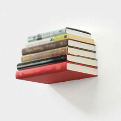Accessory Invisible Book Shelf Decor Office Room Metal Creative Wall Durable