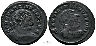 CONSTANTINE THE GREAT (310-313 AD) AE Follis. Trier #IU 1514