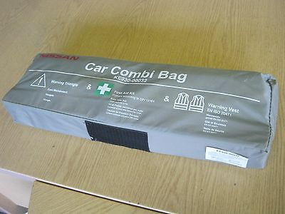 Nissan Car First Aid Kit Warning Triangle And Vest Genuine